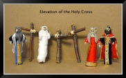 elevation cross peg doll